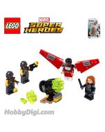 LEGO Marvel Superheroes 40418 : Falcon & Black Widow Team-Up