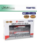 TOMYTEC Diorama Collection 1:150 模型車 - The Truck Collection Idemitsu Tank Truck Set (1套2架)