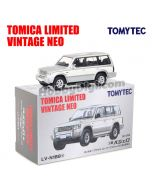 TOMYTEC Tomica Limited Vintage NEO 合金車 - TLV-N189a Pajero Super Exceed Z (銀/白)