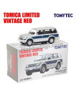 TOMYTEC Tomica Limited Vintage NEO 合金車 - TLV-N189b Pajero Super Exceed Z (銀/藍)