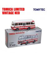 TOMYTEC Tomica Limited Vintage NEO 合金車 - LV-184b Toyota Coaster High Roof Deluxe Car (白 / 紅)