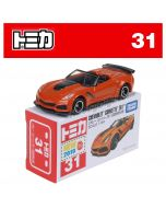 [2019 Sticker] Tomica Diecast Model Car No31 - Chevrolet Corvette ZR1 (First Ltd Ed)