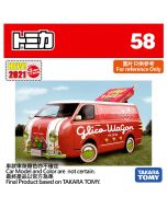 [2021新車貼] Tomica 合金車 No58 - Glico Wagon