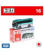 Tomica Diecast Model Car No16 - ISUZU Gala JR Bus Tohoku
