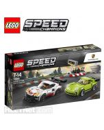 LEGO Speed Champions 75888: Porsche 911 RSR and 911 Turbo 3.0