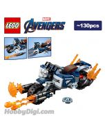 LEGO 散裝淨機 Marvel: Captain America's Bike