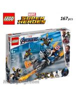 LEGO Marvel Superheroes 76123: Captain America: Outriders Attack