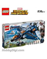 LEGO Marvel Superheroes 76126: Avengers Ultimate Quinjet