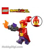 LEGO Loose Decoration and Minifigure Monkie Kid : Red Son與卸賽車