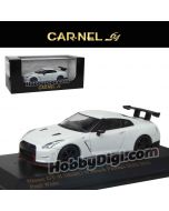 CarNel models 1:64 合金車 - Nissan GT-R NISMO N Attack Package (R35) 2015 Pearl White