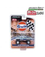 Greenlight 1:64 MiJo Exclusives 限量版合金車 - Ford F250 Monster Truck GULF Livery (Limited 4,800)