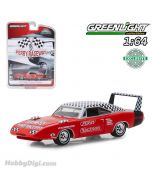 Greenlight 1:64 Diecast Model Car - 1969 Dodge Charger Daytona Perry Raceway Pace Car (Hobby Exclusive)