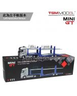 TSM 1:64 Mini GT 合金車 - Mercedes-Benz Actros with Car Carrier Trailer (左手軚)