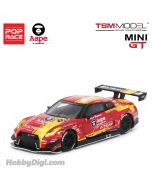 POP Race x TSM MINI GT 1:64 限定版合金模型車 - Nissan GT-R NISMO GT3 X Works/ EVA RT Test Type-02