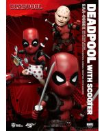 Beast Kingdom Marvel Comics Egg Attack EAA-065DX - Deadpool With Scooter