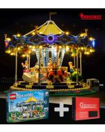 Briksmax 專用燈光組件 + LEGO Creator 10257 : The New Carousel Set