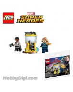 LEGO Marvel Superheroes Polybag 30453 : Captain Marvel and Nick Fury