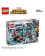 LEGO Marvel Superheroes 76167 : Iron Man Armoury