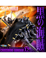 [日版] Bandai Metal Build 魂商店限定: XM-X2 海盜高達X2