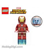 LEGO 散裝人仔 Marvel : Iron Man with Silver Hexagon on Chest