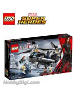 LEGO Marvel Superheroes 76162 : Black Widow's Helicopter Chase