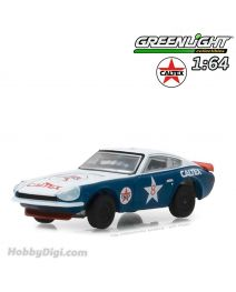 Greenlight 1:64 合金車 - Running on Empty Series 5 - 1970 Datsun 240Z Caltex Solid Pack