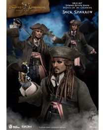 Beast Kingdom 加勒比海盜 Dynamic 8ction Heroes DAH-017 - 傑克船長 Captain Jack Sparrow