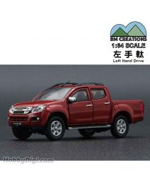 BM Creations Junior 1:64 合金模型車 - ISUZU 2016 D-MAX Orange (左手軚)
