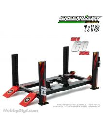 Greenlight 1:18 合金車場景套裝 - Four-Post Lift - Gone in Sixty Seconds