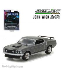 Greenlight 1:64 合金車 - John Wick (2014) - 1969 Ford Mustang BOSS 429 Solid Pack