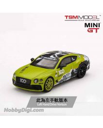TSM 1:64 Mini GT 合金車 - Bentley Continental GT 2019 Pikes Peak International Hill Climb (左手軚)
