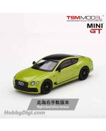 TSM 1:64 Mini GT 合金車 - Bentley Continental GT Limited Edition Pikes Peak (右手軚)