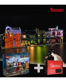 Briksmax 專用燈光組件 + LEGO Harry Potter 75978 : Diagon Alley (Bundle Set)