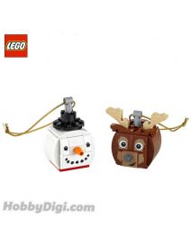 LEGO Seasonal 854050 : Snowman & Reindeer Duo