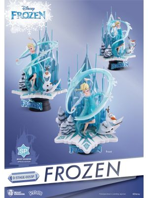 Beast Kingdom Frozen 夢精選 D-Stage 005SP - 艾莎 (Limited Edition)