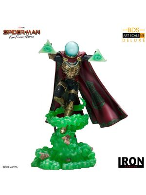 Iron Studios BDS Art Scale 1/10 Polystone Statue - Spider- Man: Far From Home Mysterio Deluxe