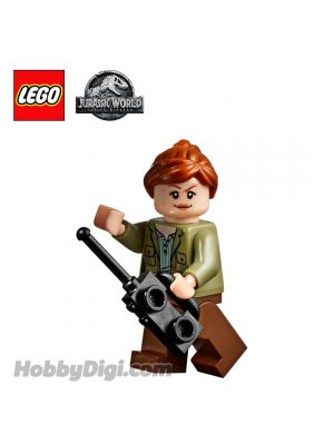LEGO Loose Minifigure Jurassic World: Claire Dearing with Walkie-Talkie