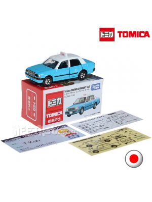 Tomica Diecast Model Car Hong Kong Taxi - Toyota Crown Comfort Lantau Taxi