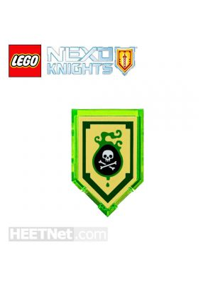 LEGO 散裝配件 Nexo Knights: Scannable Shield 107 Powers of Venom Bite