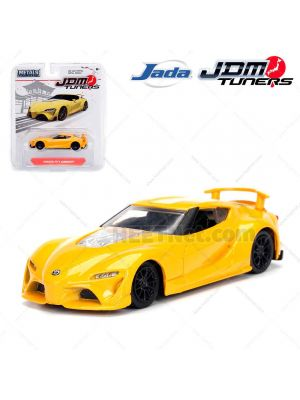 JADA JDM Tuners 1:64 Diecast Model Car - Toyota FT-1 Concept Yellow
