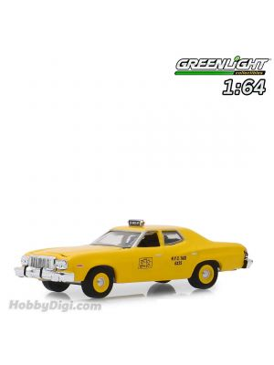 Greenlight 1:64 合金模型車 - 1975 Ford Torino - NYC Taxi (Hobby Exclusive)