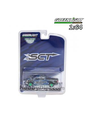 Greenlight 1:64 限量版合金模型車 - 2017 Ford F-150 - SCT, Derive Systems (Hobby Exclusive)