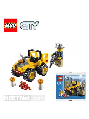 LEGO City Polybag 30152: Mining Quad