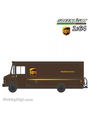 Greenlight 1:64 合金車 -  H.D. Trucks Series 17 - 2019 Package Car - United Parcel Service (UPS) Solid Pack