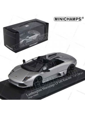 Minichamps 1:43 Model Car - Lamborghini Murcielago LP640 Roadster 2007 Grey Metallic