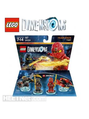 LEGO Dimensions 71207: Ninjago Team Pack