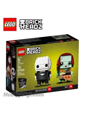 LEGO Brickheadz 41630: Jack Skellington & Sally