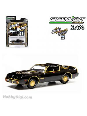 Greenlight 1:64 Diecast Model Car - Smokey and the Bandit II (1980) - 1980 Pontiac Trans Am Solid Pack