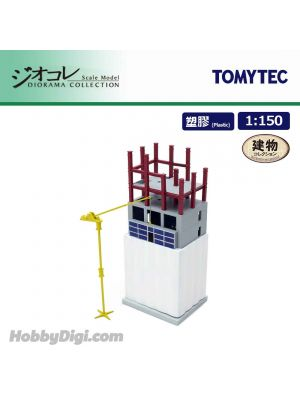 TOMYTEC Diorama Collection 1:150 Diorama Scenery Collection 166 - Large Building under construction C