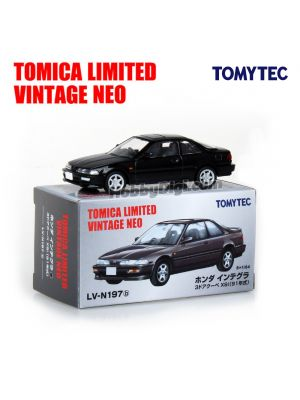 TOMYTEC Tomica Limited Vintage NEO Diecast Model Car - LV-N197b Honda Integra 3-Door Coupe XSi (Black)
